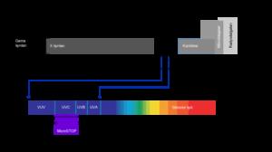 Ultraviyole Işınları ve dalga boyu aralığı